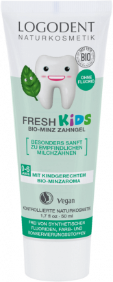LOGODENT Fresh Kids zubný gel, Mäta, 50 ml