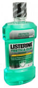Listerine Teeth & Gum Defence ústna voda, 500 ml