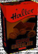 Halter Coffee Chocolate cukríky bez cukru, 36 g
