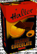 Halter Orange Chocolate cukríky bez cukru, 36 g